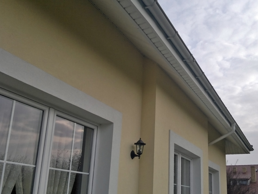 Manufacturer Of Pvc Panels Soffit Roof Eaves Gutters